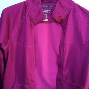 Champion pink jacket.
